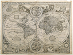 A New and Accurat Map of the World Drawne according to ye truest Descriptions latest Discoveries & best Observations yt have beene made by English or Strangers.